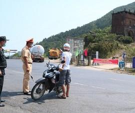 Chạy xe máy từ TP.HCM về Huế, nam thanh niên được phát hiện mắc COVID-19