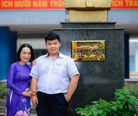 1 nam sinh ở Huế đạt điểm 10 môn Ngữ văn kỳ thi tốt nghiệp THPT
