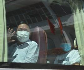 Đoàn y bác sĩ Quảng Trị, Thừa Thiên - Huế vào Bình Dương chống dịch