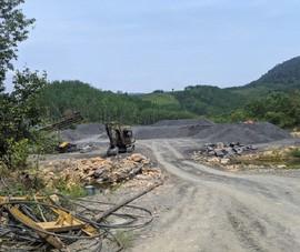 Yêu cầu đóng cửa mỏ, phục hồi môi trường mỏ đá Thượng Long
