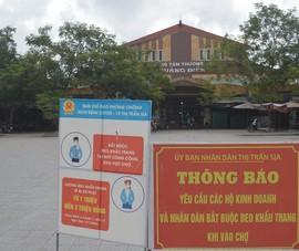 Thừa Thiên - Huế: Có ca nghi nhiễm cộng đồng, 1 chợ huyện tạm dừng hoạt động