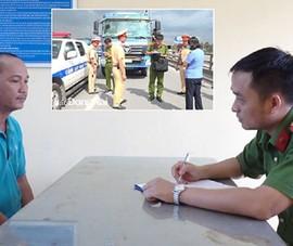 Đề nghị truy tố tài xế chở hàng quá tải