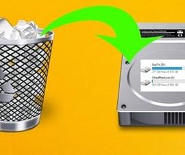Thủ thuật khôi phục dữ liệu đã xóa trên ổ cứng và USB