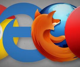 So sánh tốc độ giữa Chrome, Firefox, Opera và Edge