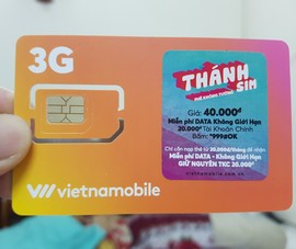 'Thánh SIM' của Vietnammobile bị dừng triển khai