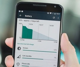 5 cách cải thiện tuổi thọ pin trên Android