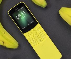 Nokia muốn hồi sinh với điện thoại 'trái chuối'