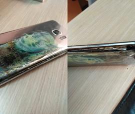 Samsung Galaxy S7 Edge bất ngờ phát nổ