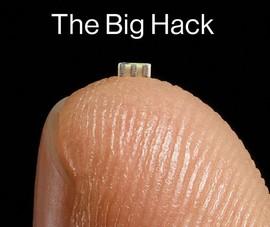 Trung Quốc cài chip siêu nhỏ theo dõi Apple, Amazon?