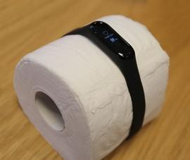 Mi Band 3 phát hiện nhịp tim trên cuộn giấy vệ sinh?