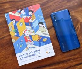 Trên tay mẫu smartphone giá rẻ Honor 10 Lite
