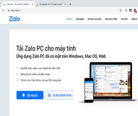 Sở TT&TT lên tiếng về văn bản thu hồi 2 tên miền Zalo
