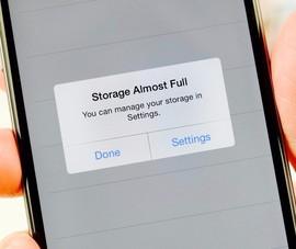 4 việc cần làm khi iPhone và iPad bị đầy bộ nhớ