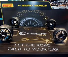 Lốp xe thông minh giúp người lái an toàn hơn