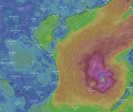 Đường đi của cơn bão số 6 (Nakri) trong vài ngày tới