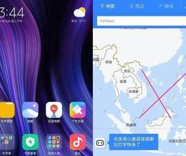Cẩn trọng bản đồ đường lưỡi bò trên smartphone TQ xách tay