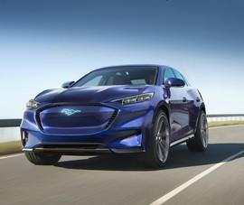 Xe điện Ford Mustang Mach-E chạy được 482 km/lần sạc