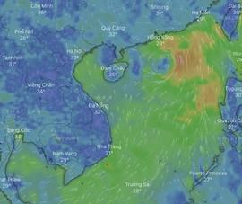 Cách theo dõi đường đi của cơn bão NURI theo thời gian thực