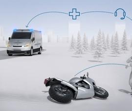 Công nghệ mới giúp người lái xe máy sống sót cao hơn