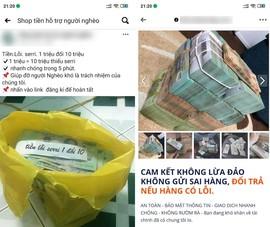 'Tiền lỗi seri' được rao bán tràn lan trên Facebook