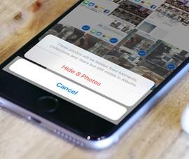 Cách ẩn nhanh các video riêng tư trên iPhone