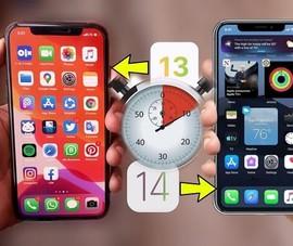 Mất bao lâu để cập nhật iPhone lên iOS 14?
