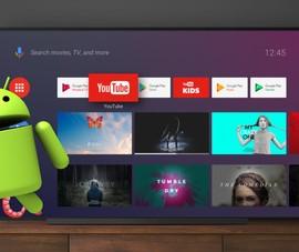 Cẩn trọng phần mềm độc hại mới trên Android tivi