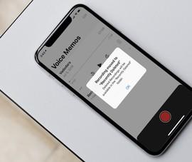 Cách giảm tiếng ồn và tiếng vang trong file ghi âm của iPhone