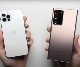 iPhone 12 Pro đánh bại Note 20 Ultra dù có RAM thấp hơn