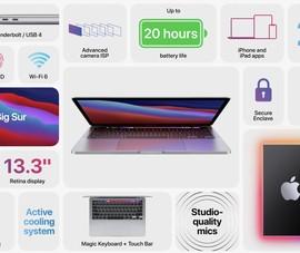 Apple ra mắt 2 mẫu MacBook mới, pin 20 tiếng