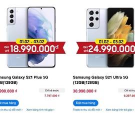 Ra mắt nửa tháng, Galaxy S21+ và S21 Ultra đã giảm giá 7 triệu