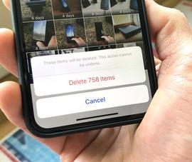 2 cách xóa toàn bộ hình ảnh trên iPhone cực nhanh