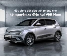 Ô tô điện: 'Vũ khí' đẳng cấp của người Việt