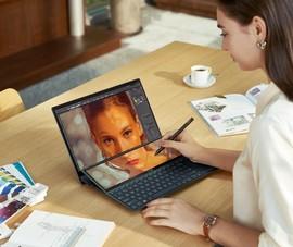 Lộ diện mẫu laptop 14 inch 2 màn hình mỏng nhẹ nhất thế giới