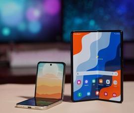2 mẫu smartphone màn hình gập 'siêu độc' chính thức lộ diện