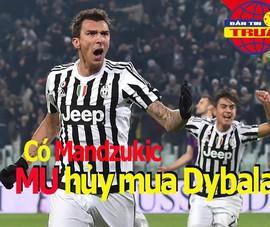 Có Mandzukic, MU hủy mua Dybala; Van Dijk đứt chuỗi kỷ lục