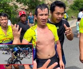 Clip tay đua phong trào bị xe lao qua người trong tai nạn
