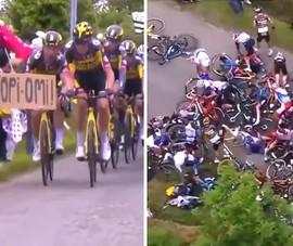 Bắt giữ nữ CĐV gây tai nạn liên hoàn tại Tour de France