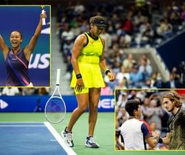 Các tay vợt trẻ gây sốc tại Mỹ mở rộng