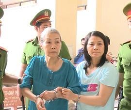 Clip: 1 nữ bị cáo chối tội trong vụ đổ bê tông giấu xác