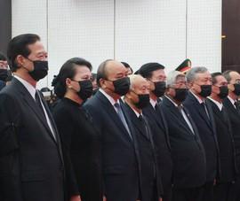 Video: Lễ viếng nguyên Phó thủ tướng Trương Vĩnh Trọng