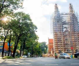 Video: Đường phố Sài Gòn vắng vẻ trước giờ giãn cách