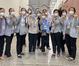 Video: 299 tình nguyện viên các tôn giáo hỗ trợ bệnh viện điều trị COVID-19
