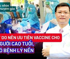 Video: Cần cấp bách tiêm vaccine cho người cao tuổi, có bệnh lý nền