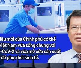 PGS-TS Đỗ Văn Dũng nói về chiến lược thích ứng an toàn với SARS-CoV-2