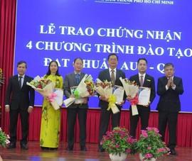 4 chương trình của Đại học Nông Lâm TP.HCM đạt chuẩn AUN