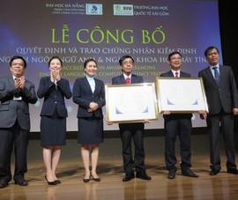 Hai ngành của Trường ĐH Quốc tế Sài Gòn đạt chuẩn kiểm định