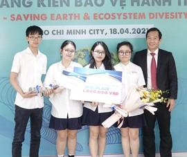 Học sinh Hà Nội giành giải nhất cuộc thi Bảo vệ hành tinh xanh