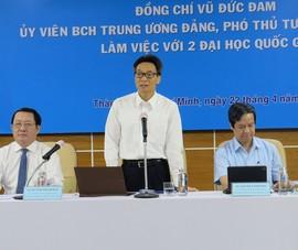 5 kiến nghị quan trọng ĐH Quốc gia TP.HCM gửi đến Chính phủ