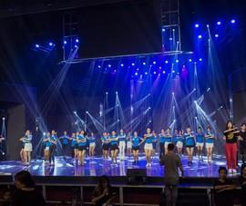 Sân khấu xoay cho chung khảo Miss World Việt Nam 2019